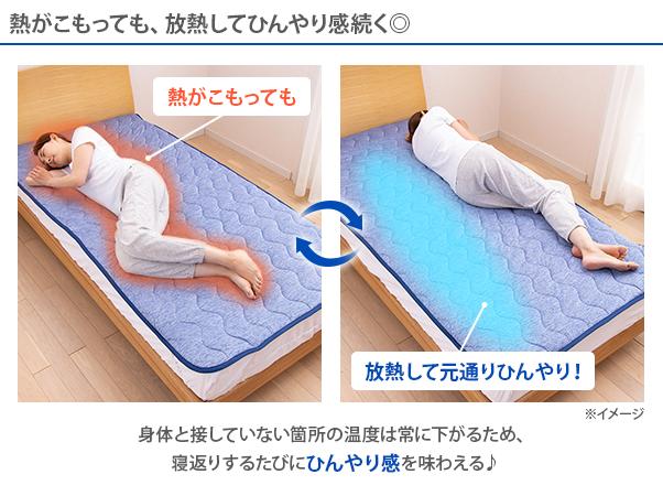 涼感寝具 コールドインパクトDRY+ 特別セット