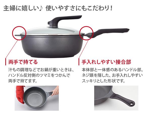 美虎のやる気鍋プレミアム26cm【ガス用】