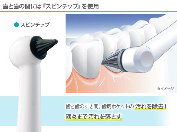 電動トゥースクリーナー クリスタル・ブラン 特別セット8