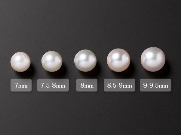 高島屋 9-9.5mmアコヤ大珠本真珠 大特価セット