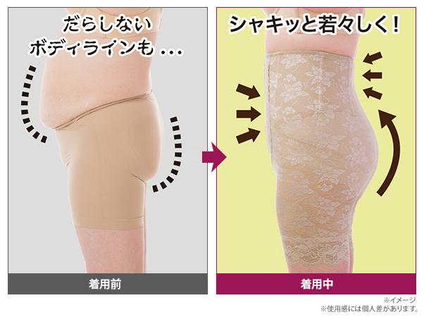 産婦人科医まるかな先生監修 美姿勢スタイルアップインナー 2枚組6