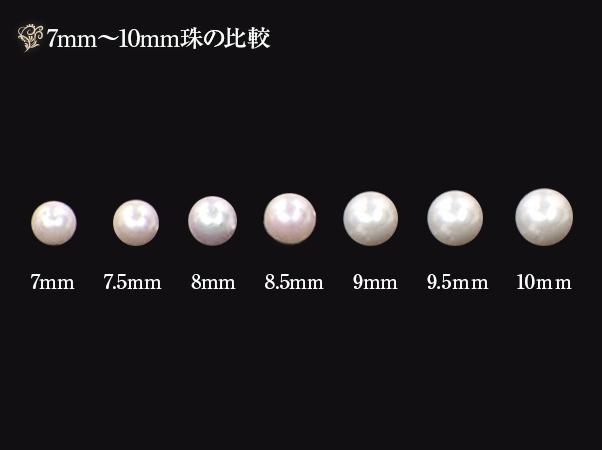 高島屋 アコヤ超大珠真珠グラデーションネックレスセット5