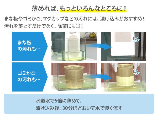 超強力 排水口クリーナー パイプドバット 詰替え用 (2L×2本)9