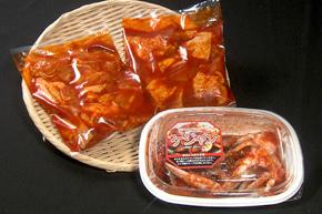韓国グルメ ケジャン&プルダッセット