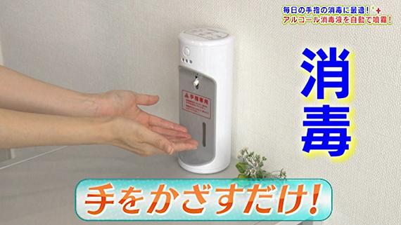 アルコール消毒液自動噴霧器 ウィルッシュ